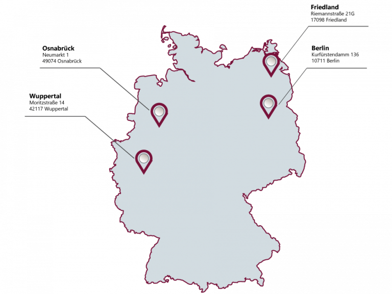 locations of LMIS AG