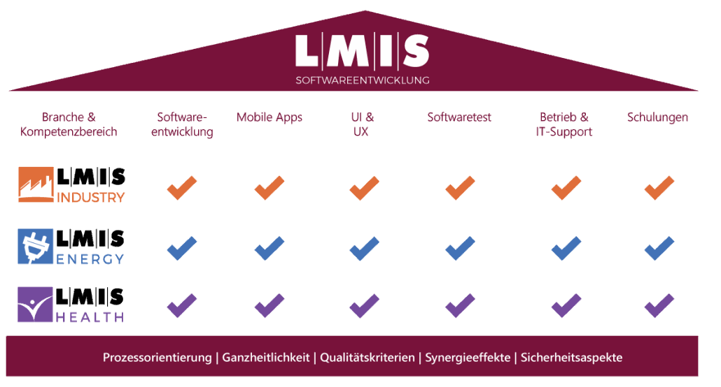 LMIS AG Softwareentwicklung IT Grafik Strategieupdate 2017